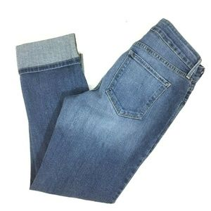 NYDJ Boyfriend stretch jeans ladies size 6